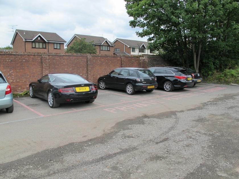 Private Patients Car Park at The Christie