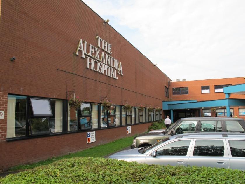 The Alexandra Hospital, Cheadle, Cheshire.