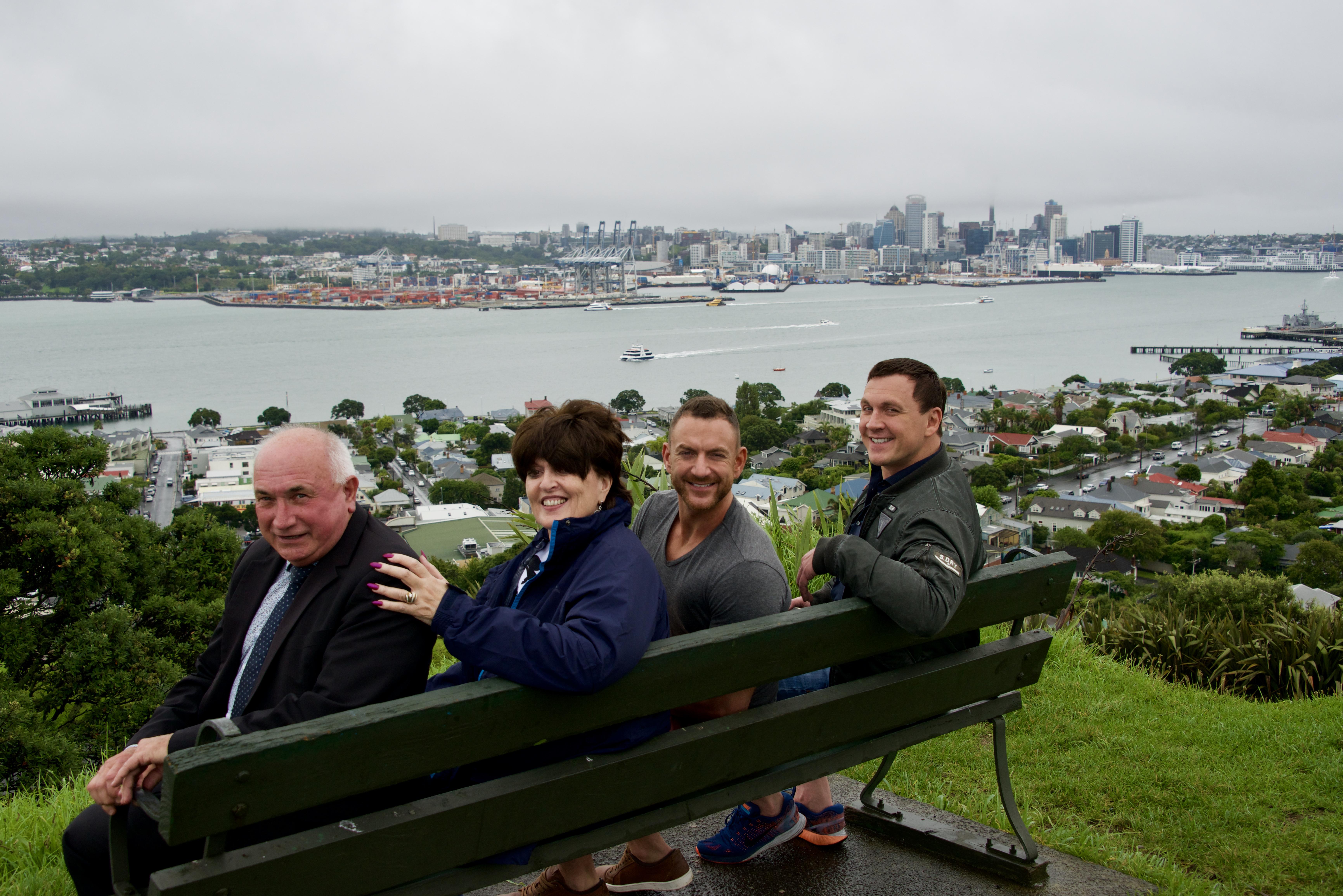 Drive John, Diana, Paul & David